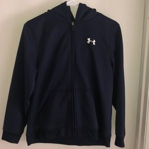 Youth Under Armour Zip Up
